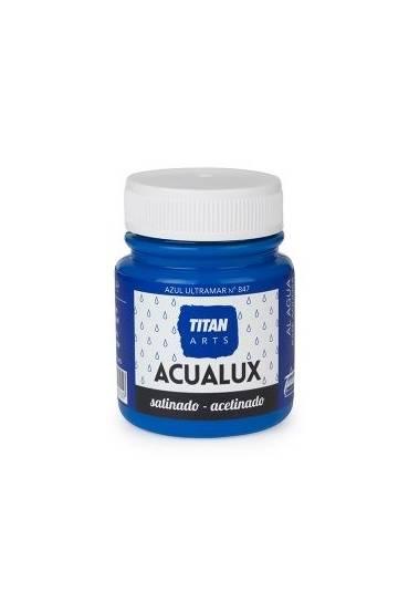 Titan Acualux 100 ml satinado Azul ultramar