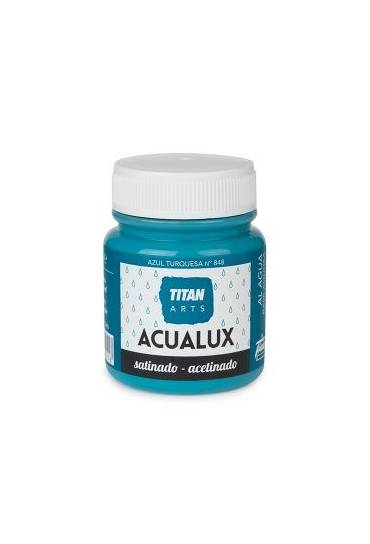 Titan Acualux 100 ml satinado Azul turquesa