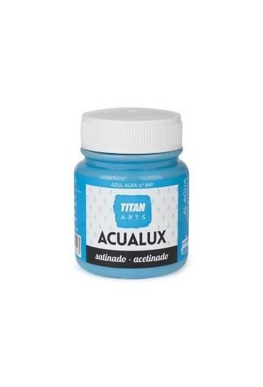 Titan Acualux 100 ml satinado Azul alba