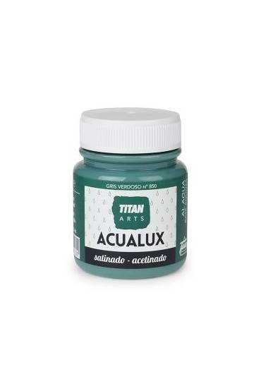 Titan Acualux 100 ml satinado Gris verdoso
