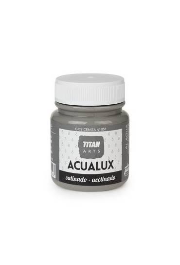 Titan Acualux 100 ml satinado Gris ceniza