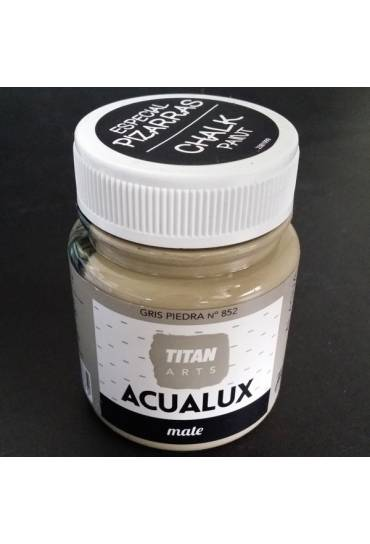 Titan Acualux 100 ml satinado Gris piedra