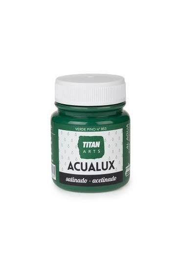 Titan Acualux 100 ml satinado Verde pino