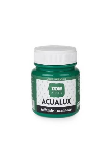 Titan Acualux 100 ml satinado Verde Jade nº854