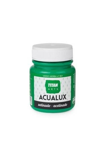Titan Acualux 100 ml satinado Verde hierba