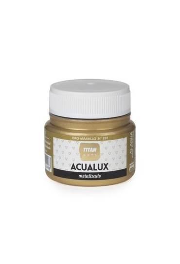 Titan Acualux 50 ml satinado Oro amarillo