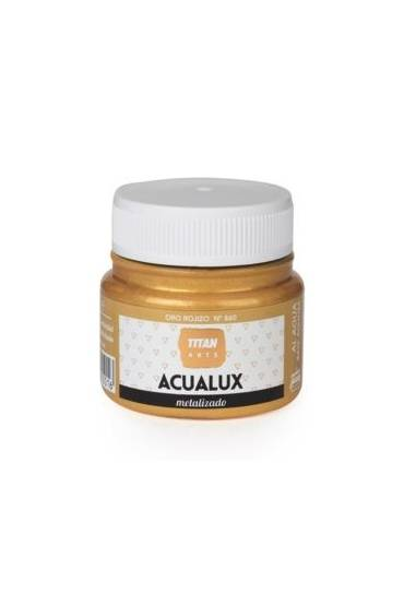 Titan Acualux 50 ml satinado Oro rojizo