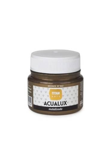 Titan Acualux 50 ml satinado Bronce