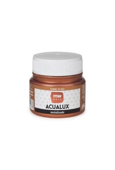 Titan Acualux 50 ml satinado Cobre