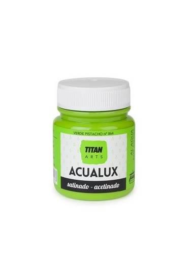 Titan Acualux 100 ml satinado Verde pistacho