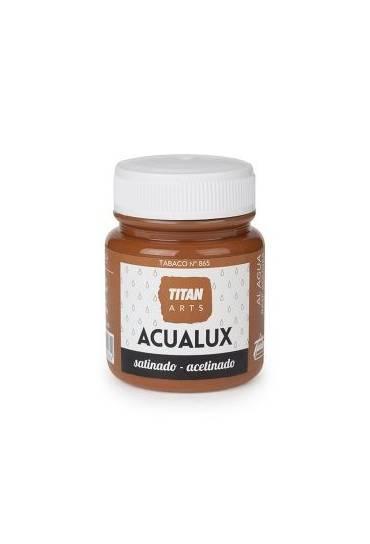 Titan Acualux 100 ml satinado Tabaco