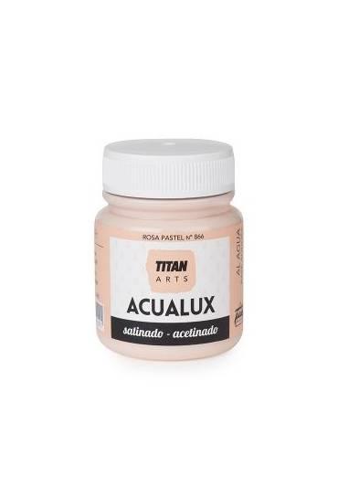 Titan Acualux 100 ml satinado Rosa pastel