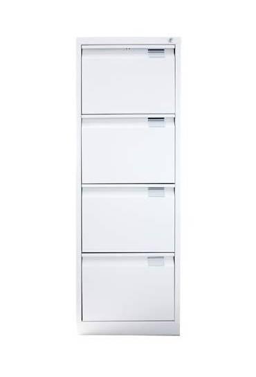 Archivador metalico 4 cajones A4-folio beige