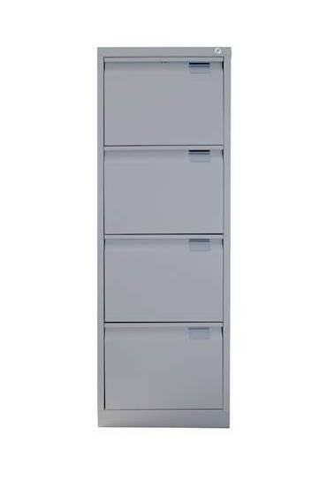 Archivador metalico 4 cajones A4-folio gris