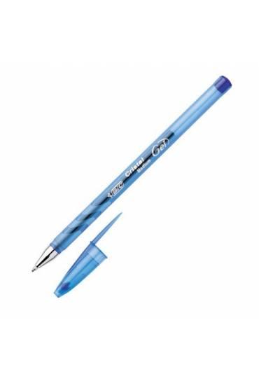 Boligrafo roller Bic cristal gel azul