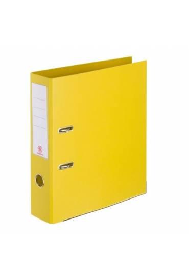 Archivador A4 55 mm forrado PP JMB amarillo
