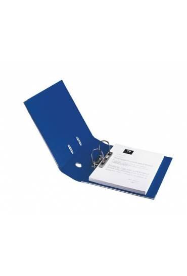 Archivador folio forrado PP JMB  Azul oscuro