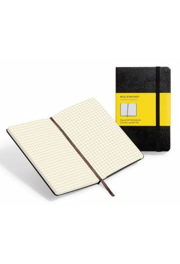 Cuaderno moleskin pocket cuadriculado