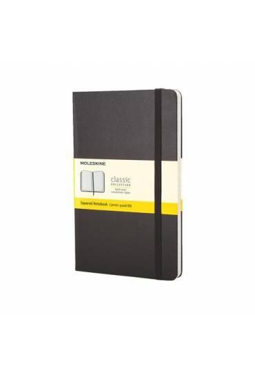 Cuaderno moleskine negro 240 Pg cuadriculado
