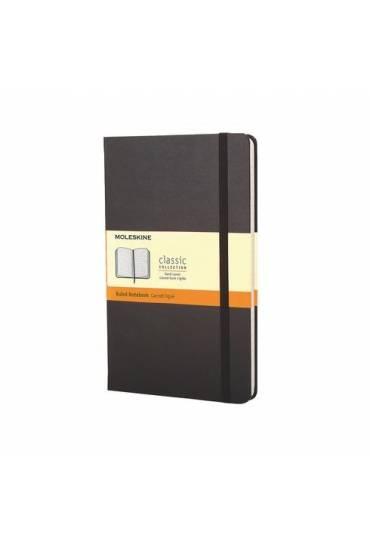 Cuaderno moleskine 240 paginas Liso 13x21 negro
