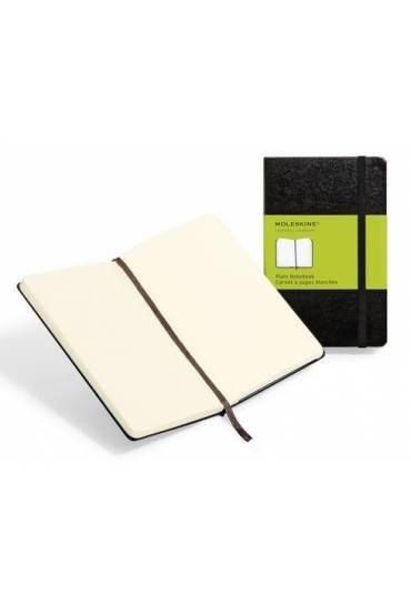 Cuaderno moleskin pocket liso negro