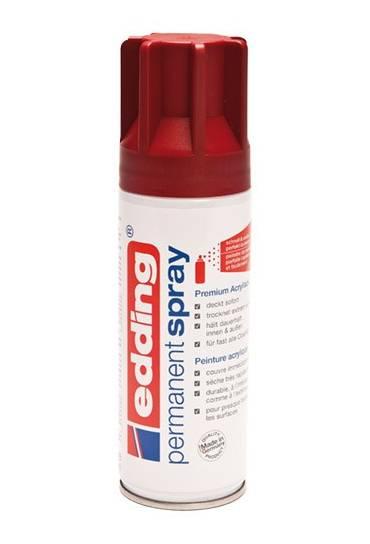 Spray edding rojo purpura mate