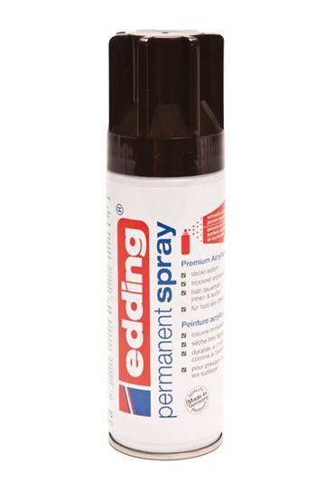 Spray edding negro intenso suave
