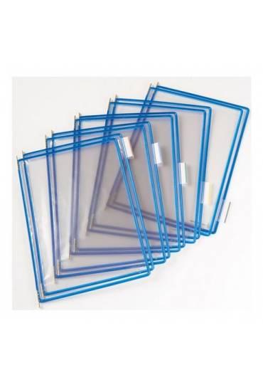 Fundas A4 azul tarifold pack 10