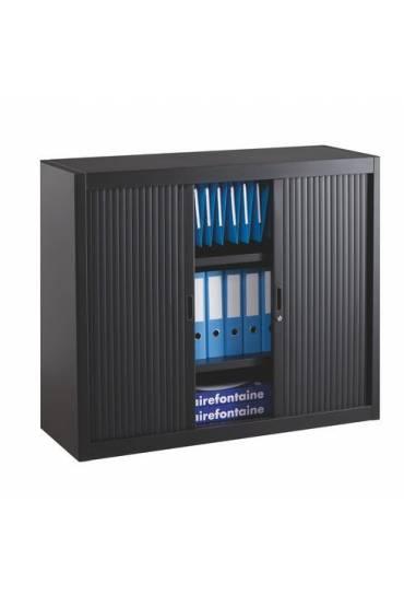Armario persiana desmontable 100x120 negro