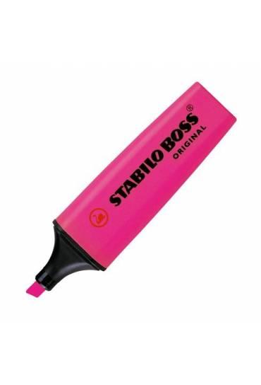 Marcador fluorescente Stabilo Boss rosa