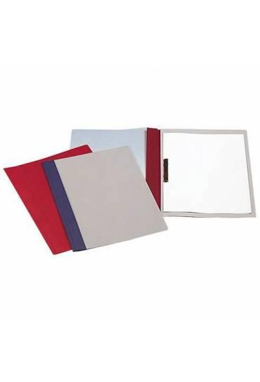 Dossier fastener metalico folio rojo