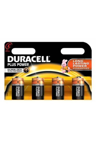 Pilas Duracell LR14 Plus Power Blister 4 unidades