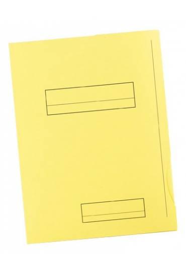 Subcarpeta 2 solapas A4 Fast 180g amarillo 50 unds