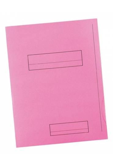 Subcarpeta 2 solapas A4 Fast 180g rosa 50 unds