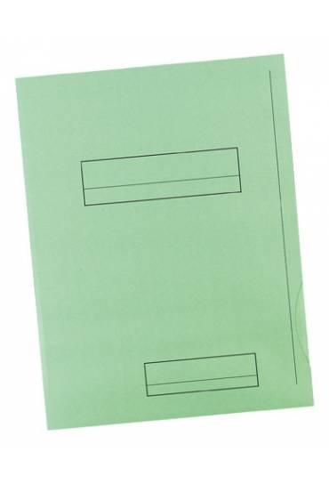 Subcarpeta 2 solapas A4 Fast 180g verde 50 unds