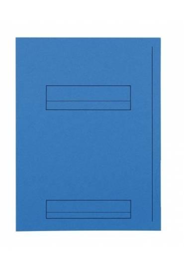 Subcarpeta 2 solapas A4 Fast  220g azul 50 unds
