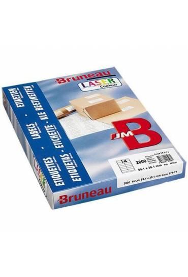 Etiquetas JMB 38.1x21.2 caja 200 hojas