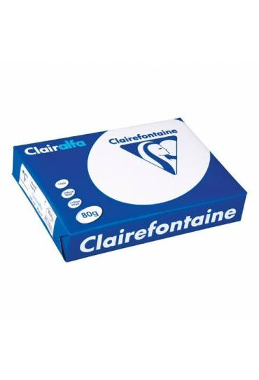 Papel Clairfontaine Clairalfa A4 80g  500 hojas