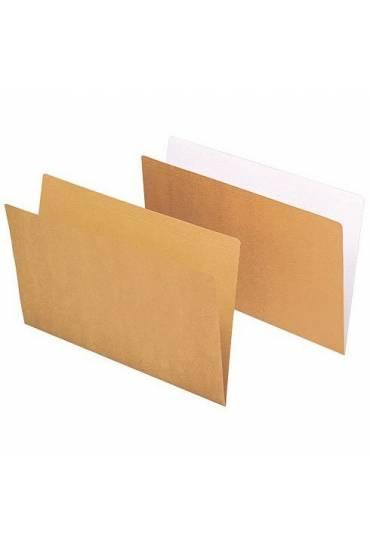 Subcarpetas bicolor kraft Gio folio 50 unidades