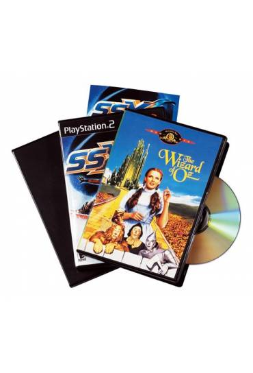 Caja dvd estandar negra
