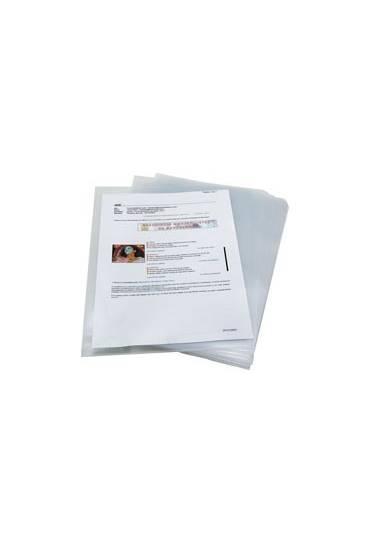 Dossier uñero PP A4 90mc transparente Paquete 25