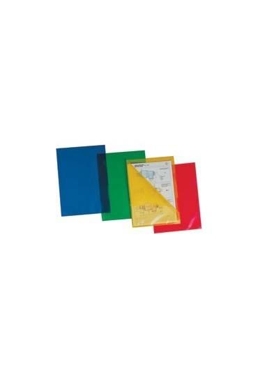 Dossier uñero PP A4 120mc surtidos translucidos 25