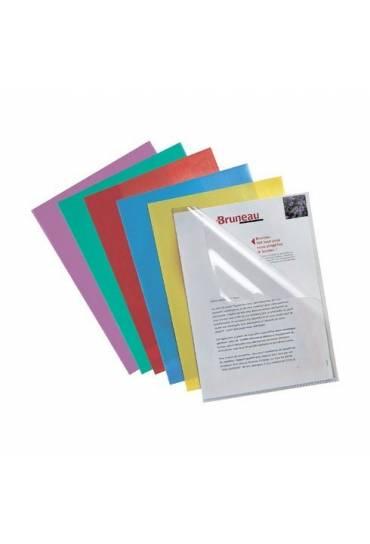 Dossiers uñero PVC  A4 200mc surtidos jmb  10 unds