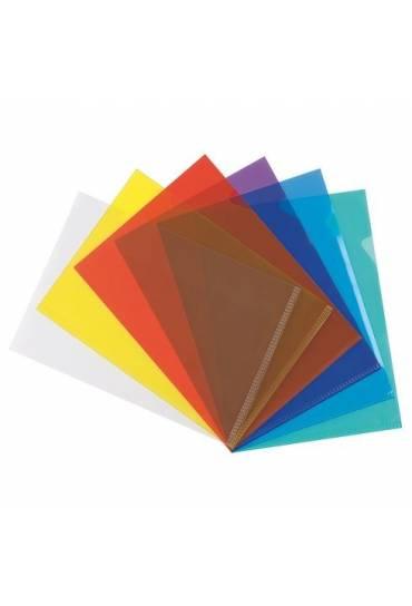 Dossier uñero PVC A4 Rojo 200 mc 100 unidades