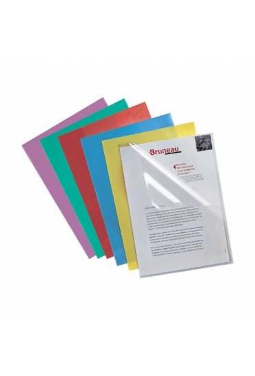Dossier uñero PVC A4 200 mc transparente 100 unds