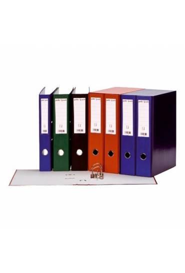Modulo 3 archivadores forrados folio azul JMB