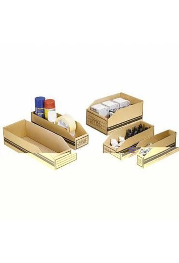 Caja de estocaje cartón 400x150x110mm