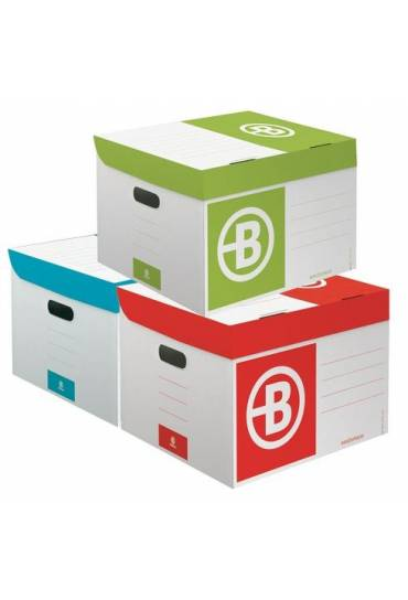 Contenedor de archivo cartón JMB mini surtidas