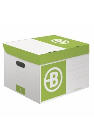 Contenedor de archivo cartón JMB mini verde