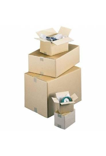 Caja embalaje cartón 500x400x400 mm canal simple